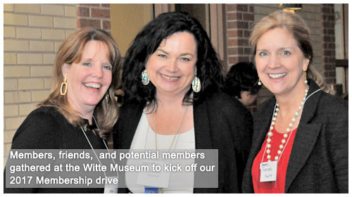 Members, friends at Witte Museum for 2017 Kickoff event