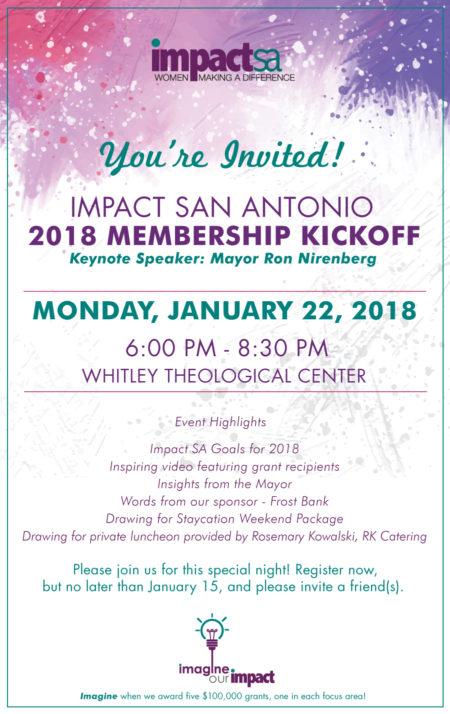 Impact SA's 2018 Membership Kickoff