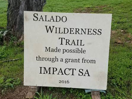 Salado Wilderness Trail