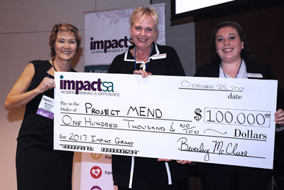 Project Mend Is Awarded A Grant.