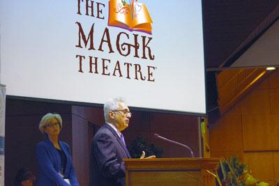 A Presentation By A Representative Of The Magik Theatre