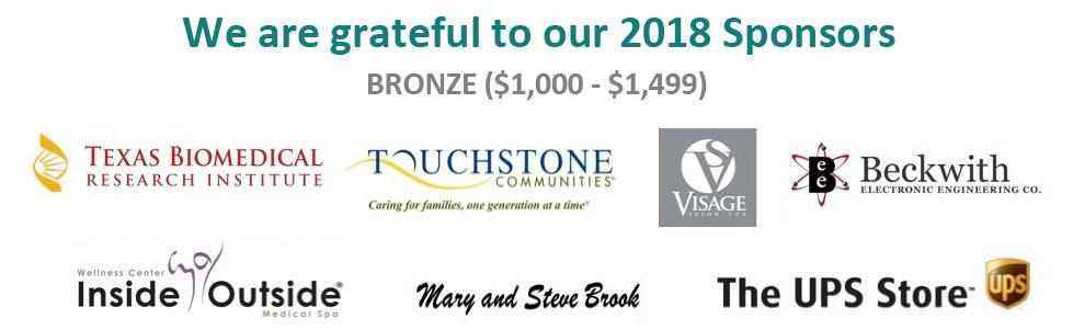 2018 Bronze Sponsors