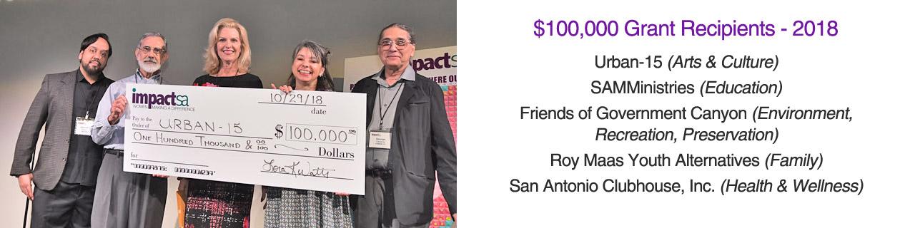 Impact San Antonio - Impact San Antonio Agency Grant ...